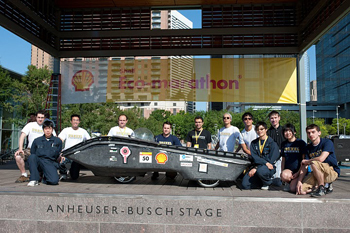 Solar Car with team