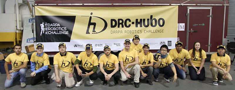 Paul Oh and his team for the DARPA Robotics Challenge