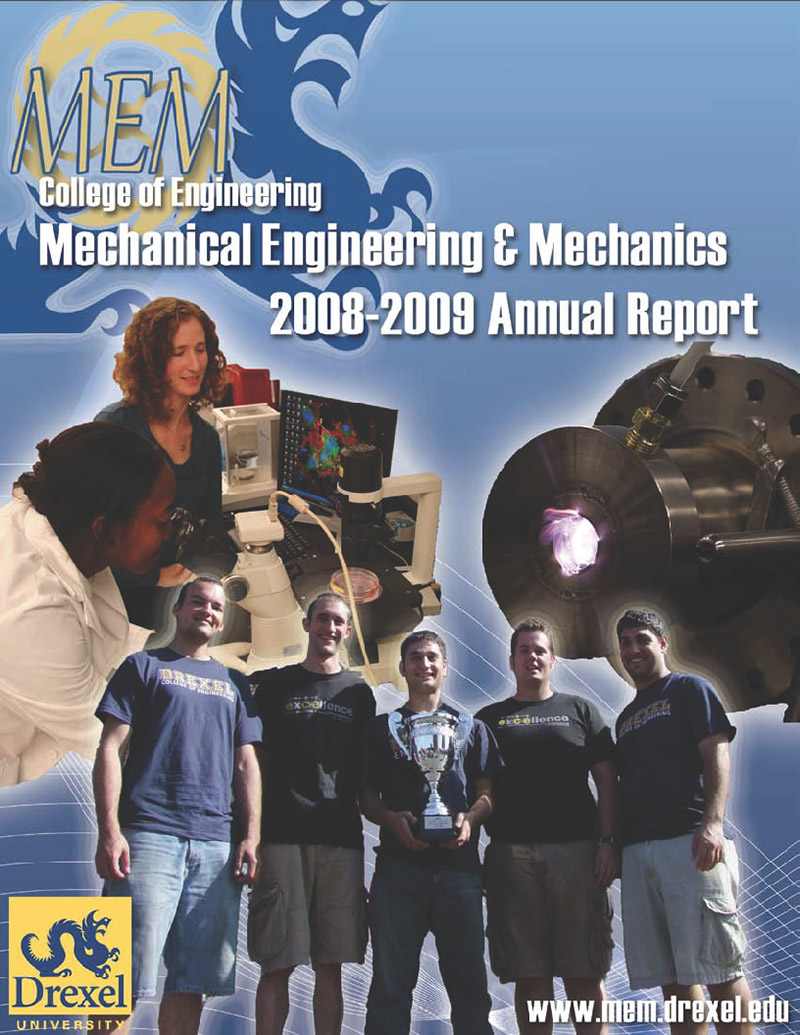 2009 Annual Report Cover