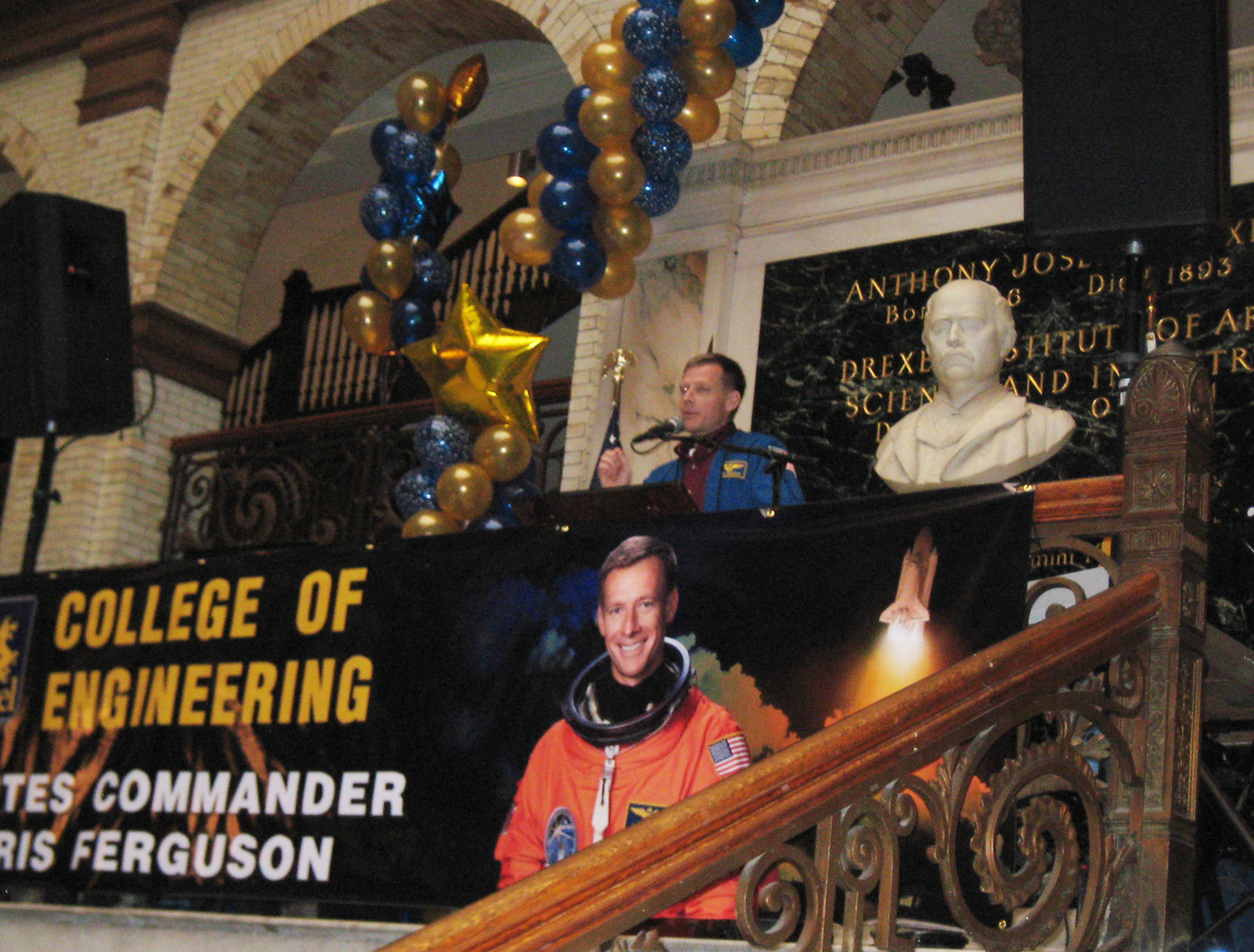 Astronaut Christopher Ferguson Named Drexel's 2009 Engineer of the Year