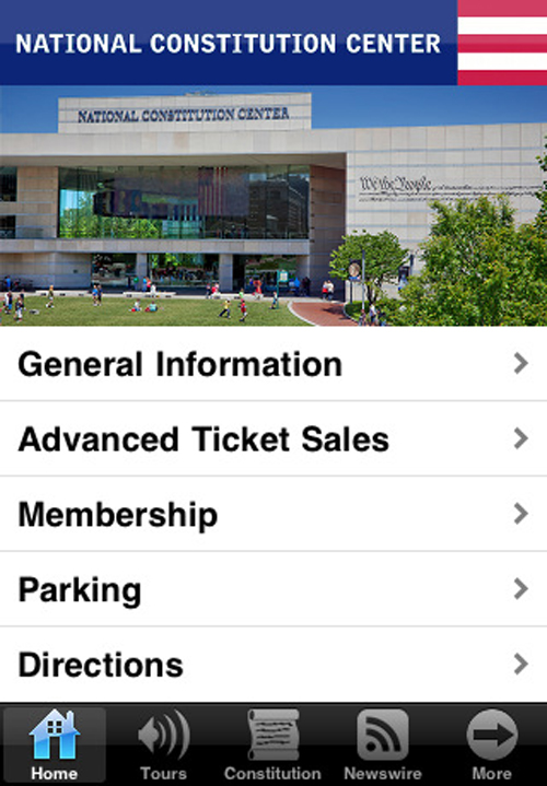 Drexel School of Education Creates iPhone App for National Constitution Center
