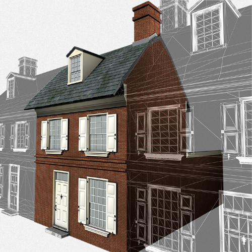 Drexel University Students Are Rebuilding 18th Century Colonial Philadelphia in 3-D Digital Forms