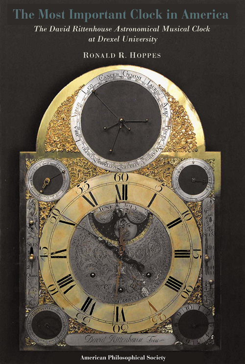 Drexel University's Rittenhouse Clock Now the Subject of a New Book