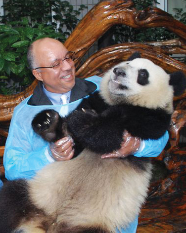 Drexel to Present $10,000 Check to Chinese Officials and Adopt Eight Pandas Bred at Conservation Park in China