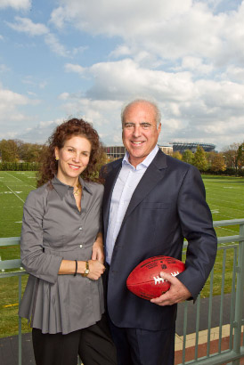Eagles Owners Jeffrey and Christina Lurie are Drexel's Business Leaders of the Year