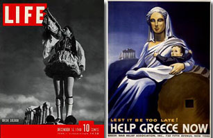 Exhibition of Newspapers and Magazines Tells the Story of Greece's Role During Word War II