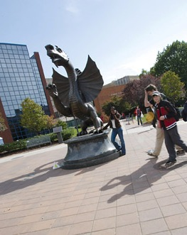 Freshmen in Record Numbers at Drexel Orientation