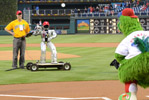 HUBO throws first pitch 4-28-12