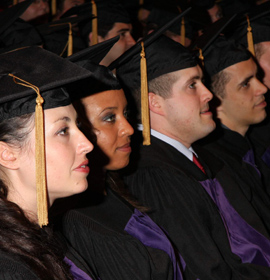 The Class of 2012 will graduate from the Earle Mack School of Law at Drexel University on May 17
