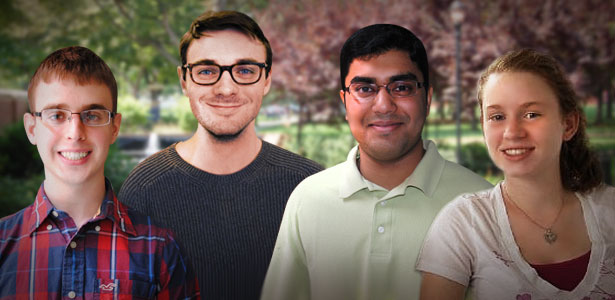 Photo of Drexel's Goldwater scholars