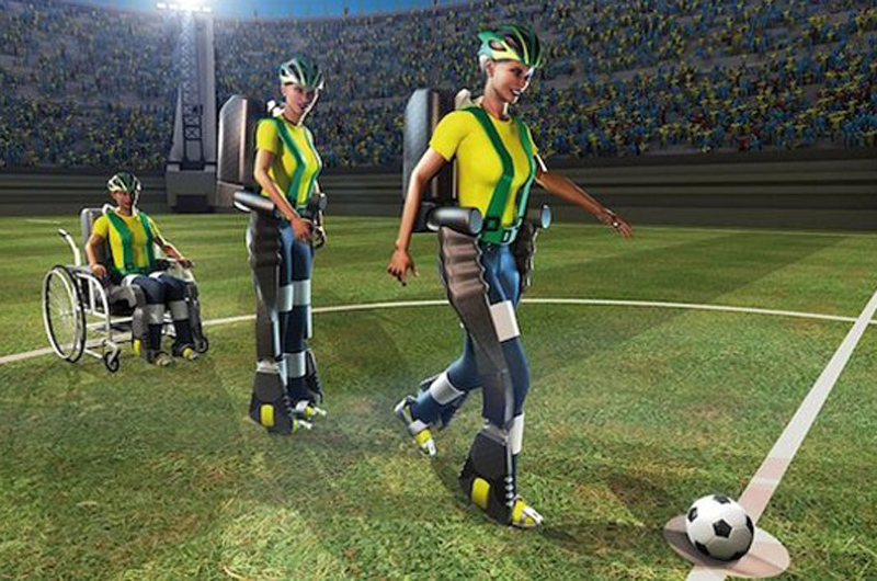 world cup exoskeleton