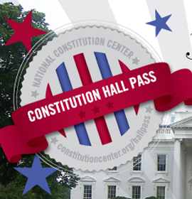 Constitution Hall Pass Logo