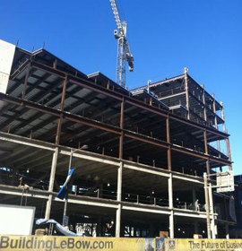 Image of LeBow College of Business New Building under construction