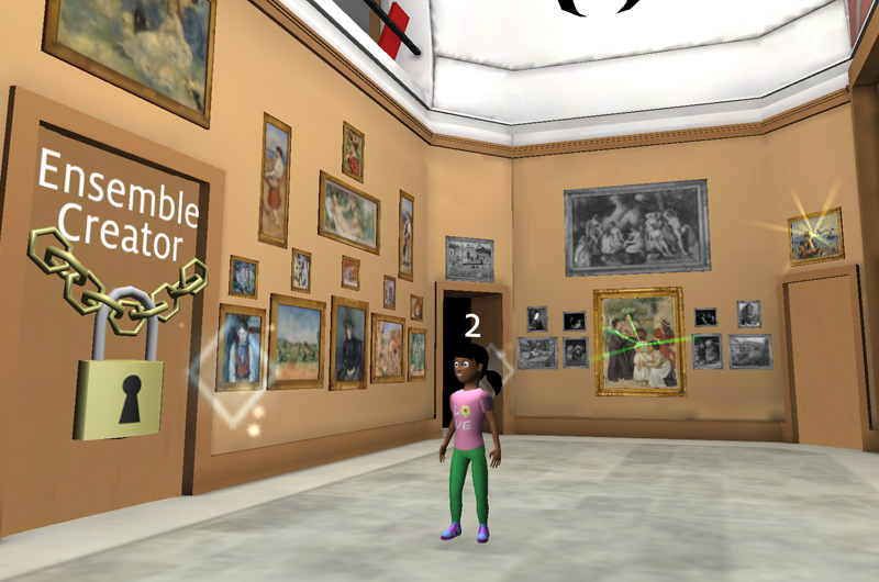 """Keys to the Collection"" launches a game environment of the Barnes' beloved, world-renowned art collection"