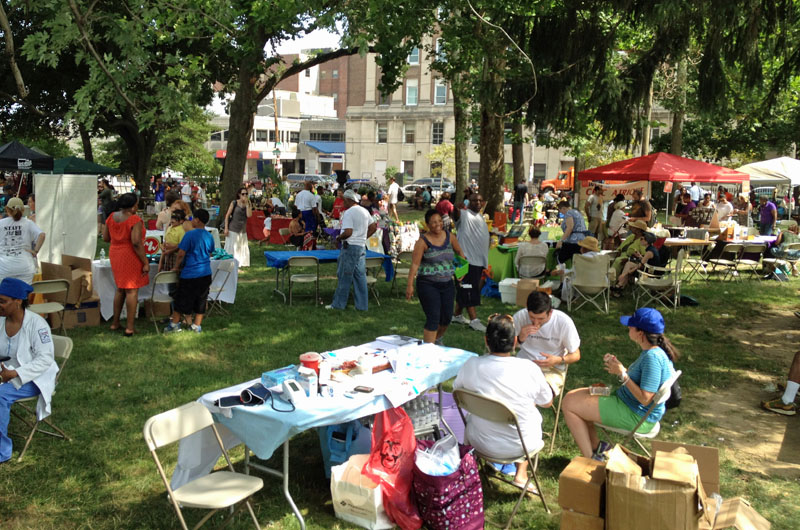 The Lancaster Ave. Jazz and Arts Festival is hosted annually by the People's Emergency Center (PEC), a leading civic organization in the area.