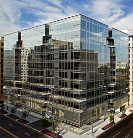 The Lafayette Tower in Washington, D.C. that will house Drexel's new office.