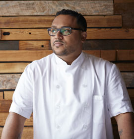 "Chef Kevin Sbraga, winner of Bravo's seventh season of ""Top Chef,"