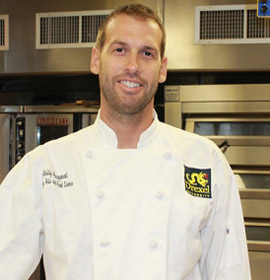 Chef Michael Traud, director of Drexel's Hospitality Management Program, organized the conference