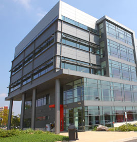 Exterior of the A.J. Drexel Plasma Institute