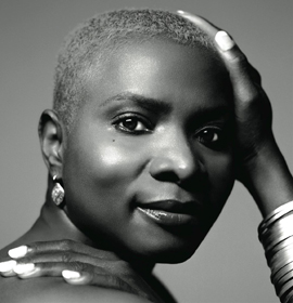 World music vocalist Angelique Kidjo