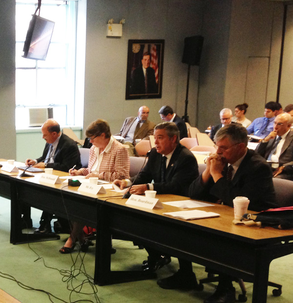 Drexel President John Fry testifies before House Committee on the future of the NE Corridor
