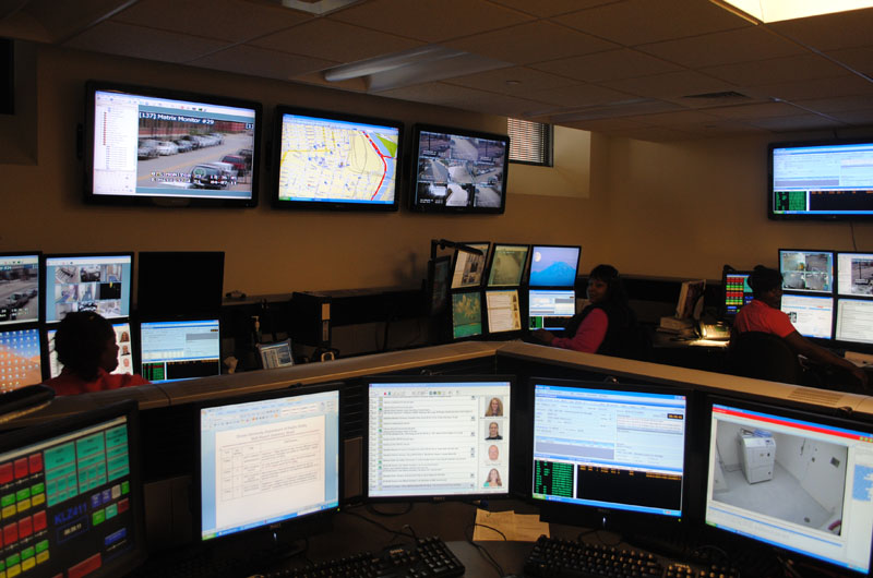 Image of the Drexel Department of Public Safety Communications Center