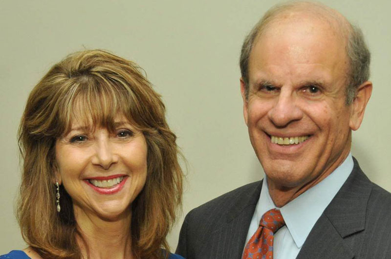 Photo of Stanley Silverman and Donna De Carolis