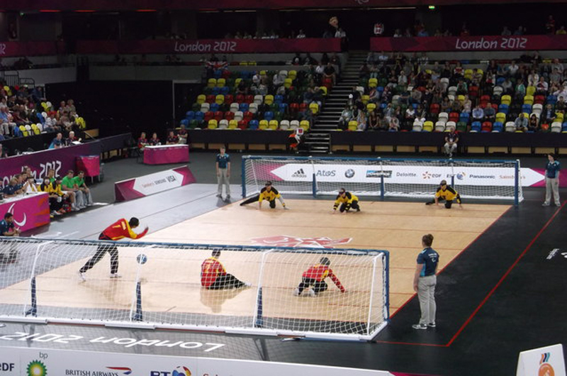 goalball court