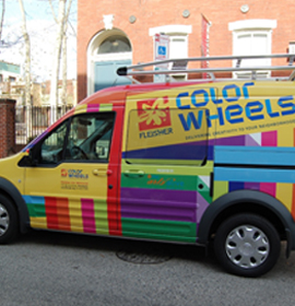 Fleisher Art Memorial's ColorWheels vehicle