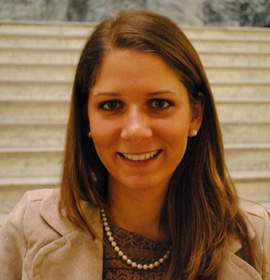 Drexel student Nevena Bosnic, a senior majoring in economics was named a 2012 Carnegie Junior Fellow