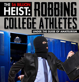 the redundancy of ncaa amateurism for collegiate athletes Many scholars understand the ncaa as a cartel, easterbrook wrote the ncaa depresses athlete's income - restricting payments to the value of tuition, room, and board, while receiving services of substantially greater worth.