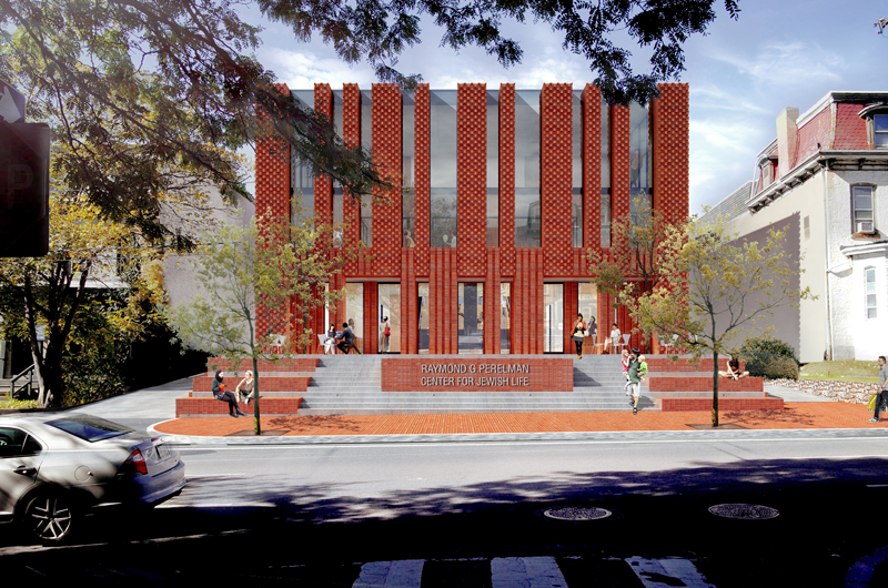 Rendering of Jewish Center