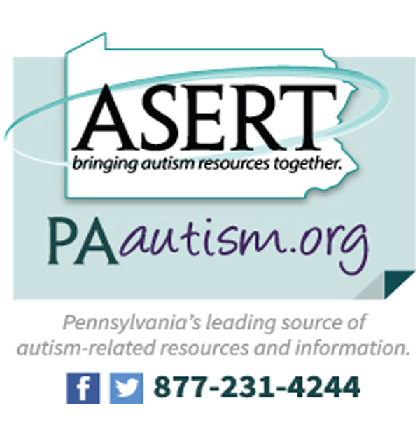 Pennsylvania ASERT now offers an autism resource website, PAautism.org, and a toll-free number, 1-877-231-4244.