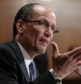 U.S. Secretary of Labor Thomas Perez will speak at Drexel Law's commencement ceremony