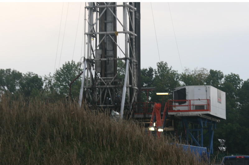 Marcellus Shale rig