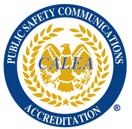 CALEA Accreditation Seal Communications