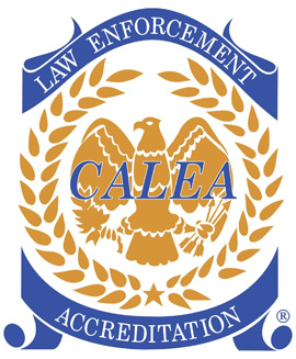 CALEA Accreditation Seal Law Enforcement
