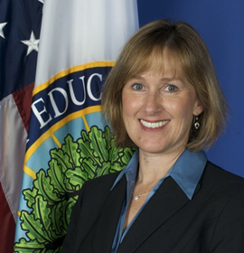 Photo of Karen Cator, director of the Office of Educational Technology at the U.S. Department of Education