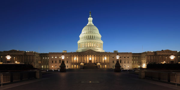 One of the packages up for auction includes a private night tour of U.S. Capitol Building in Washington, D.C., with a member of Congress