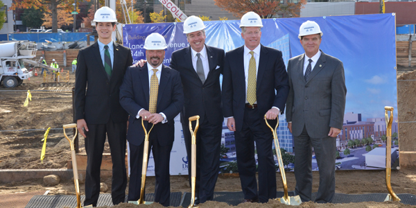 Breaking ground for Drexel's Lancaster Avenue and 34th Street Development