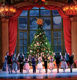 The Pennsylvania Ballet performs The Nutcracker