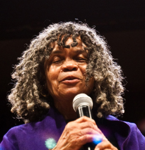 Sonia Sanchez. Photo credit: Erika Vonie