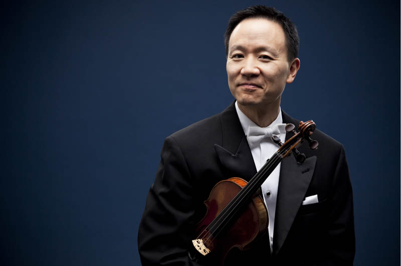 David Kim is a world-famous violinist and concertmaster of The Philadelphia Orchestra