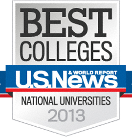 "U.S. News & World Report ""Best Colleges"" badge"