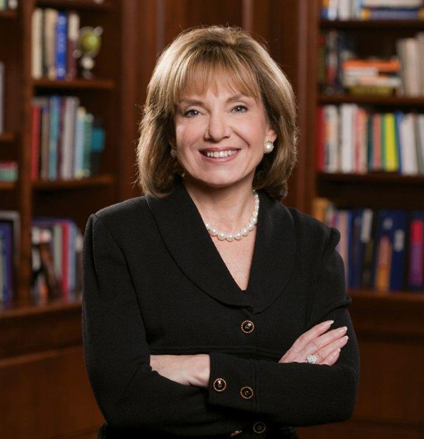 Photo of Susan C. Aldridge, Drexel senior vice president for Online Learning and president of Drexel e-Learning