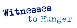 Witnesses to Hunger logo