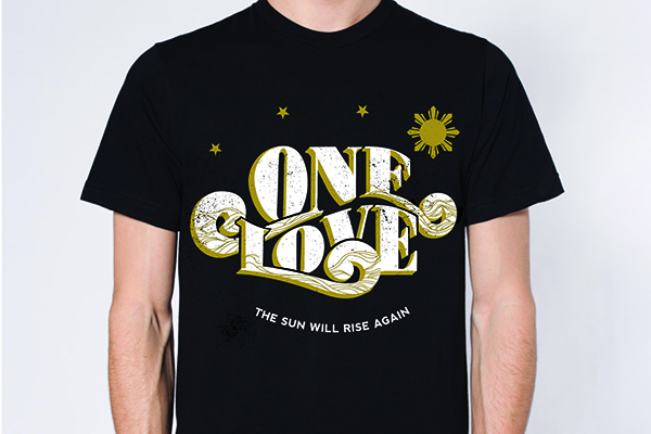 """One Love"" shirt"