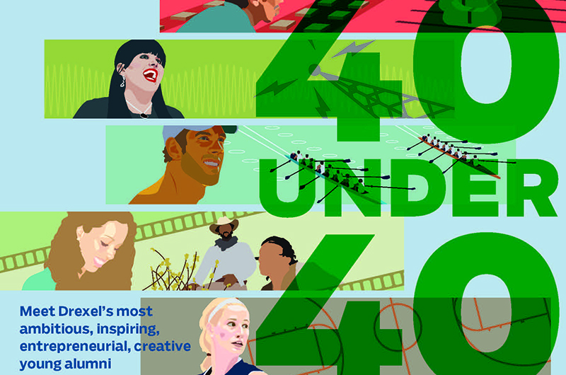 40 Under 40 Cover