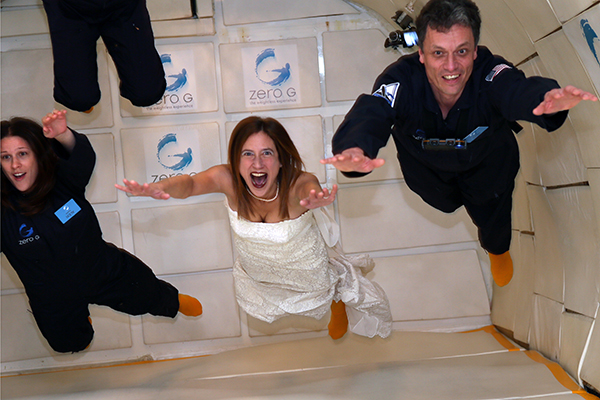 Jennifer Salvage on the ZERO-G Experience.