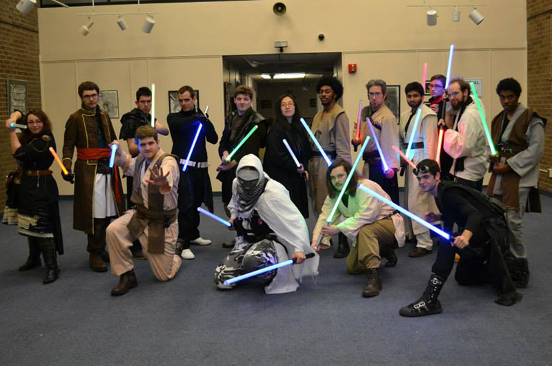 Dragon Jedi members in costume
